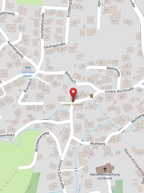 Auf OpenStreetMap anzeigen